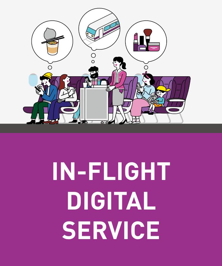 In-Flight Digital Service